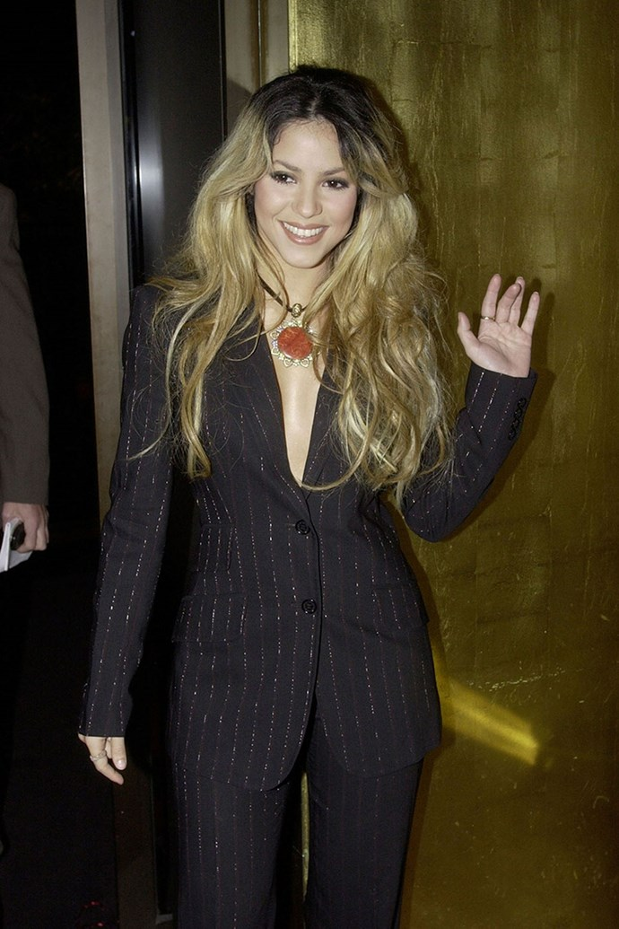 Even **Shakira** was there in 2002! The same year as Destiny's Child.