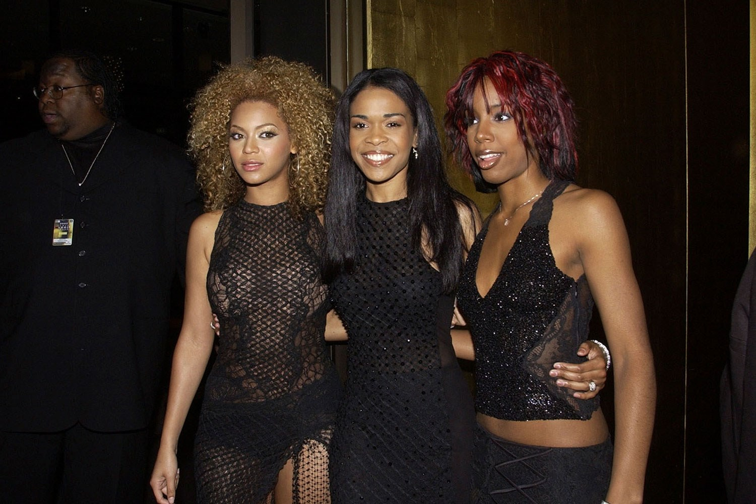 Can you handle this? **Destiny's Child** attended the Logies in 2002.