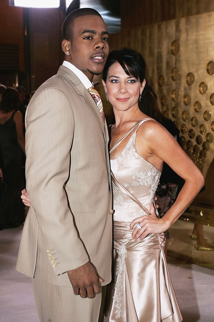 Remember the singer **Mario**? Here he is with Kate Ritchie at the Logies in 2005.