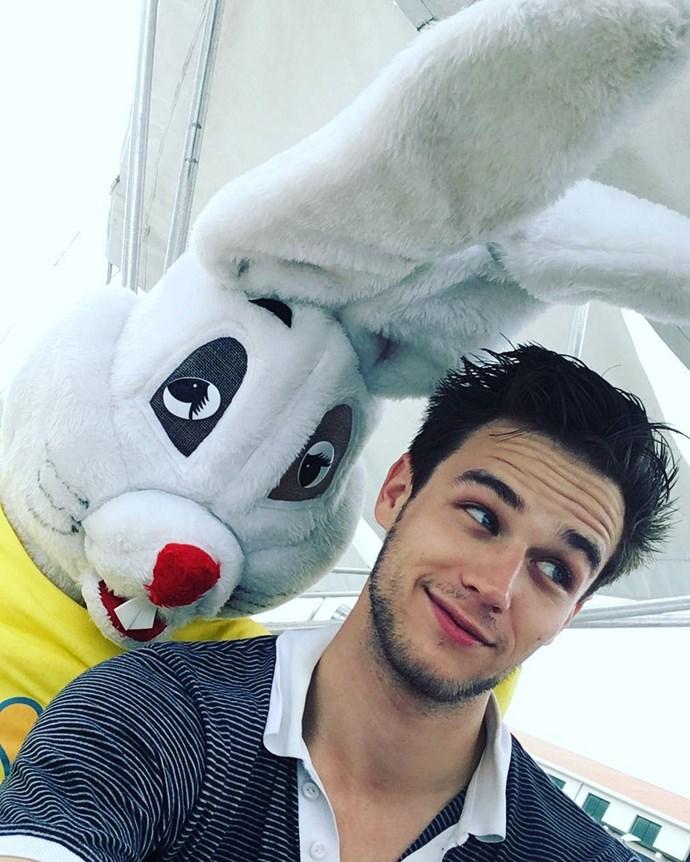 **Brandon Flynn**  Brandon plays Justin Foley.  Instagram: [@flynnagin11](https://www.instagram.com/flynnagin11/)
