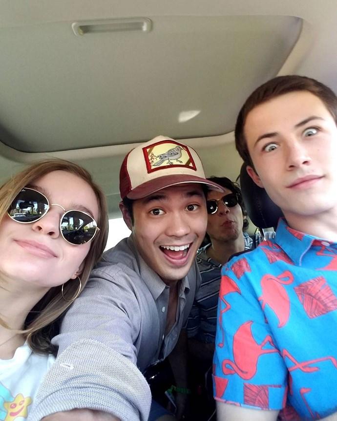**Ross Butler**  Ross plays Zach Dempsey.  Instagram: [@rossbutler](https://www.instagram.com/rossbutler/)