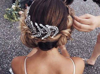 Bridal Wedding Long Hair Styles
