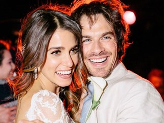 Ian Somerhalder and Nikki Reid celebrated their anniversary in the sweetest way