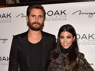 Scott Disick Kourtney Kardashian