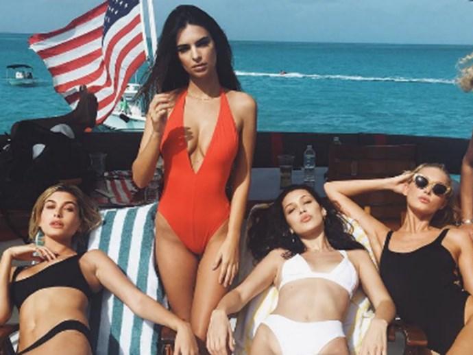 Bella Hadid, Em Rata and Kendall Jenner slammed for promoting the failed Fyre Festival