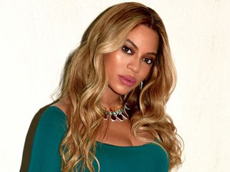 Beyonce sunscreen contouring