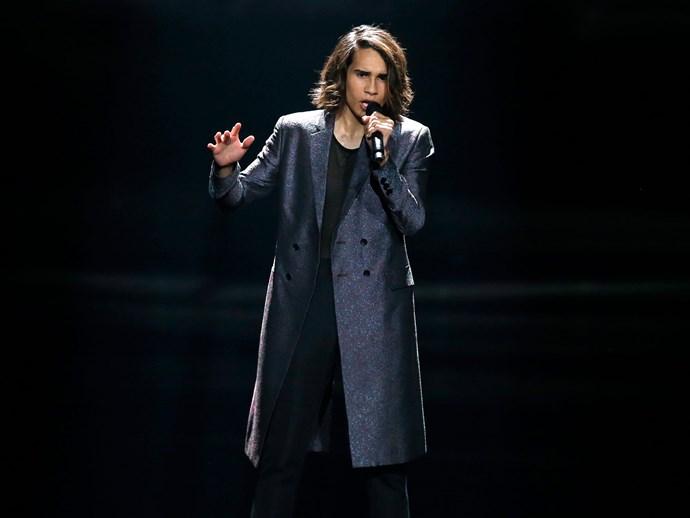 eurovision 2017 isaiah australia