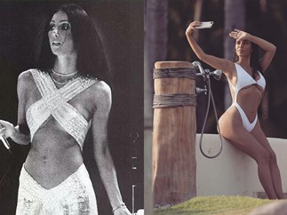 Kim Kardashian copies Cher