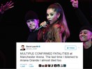 Total dickwad uses Ariana Grande tragedy to crack the world's most inappropriate joke