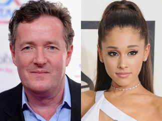 Piers Morgan continues reign as world's biggest douche, slams Ariana Grande for not visiting fans