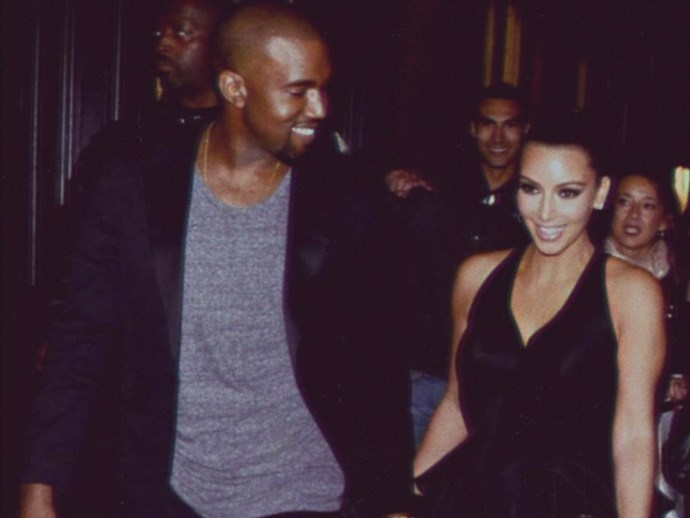 Kinda looks like Kanye West gave Kim Kardashian a room full of cauliflower for their anniversary