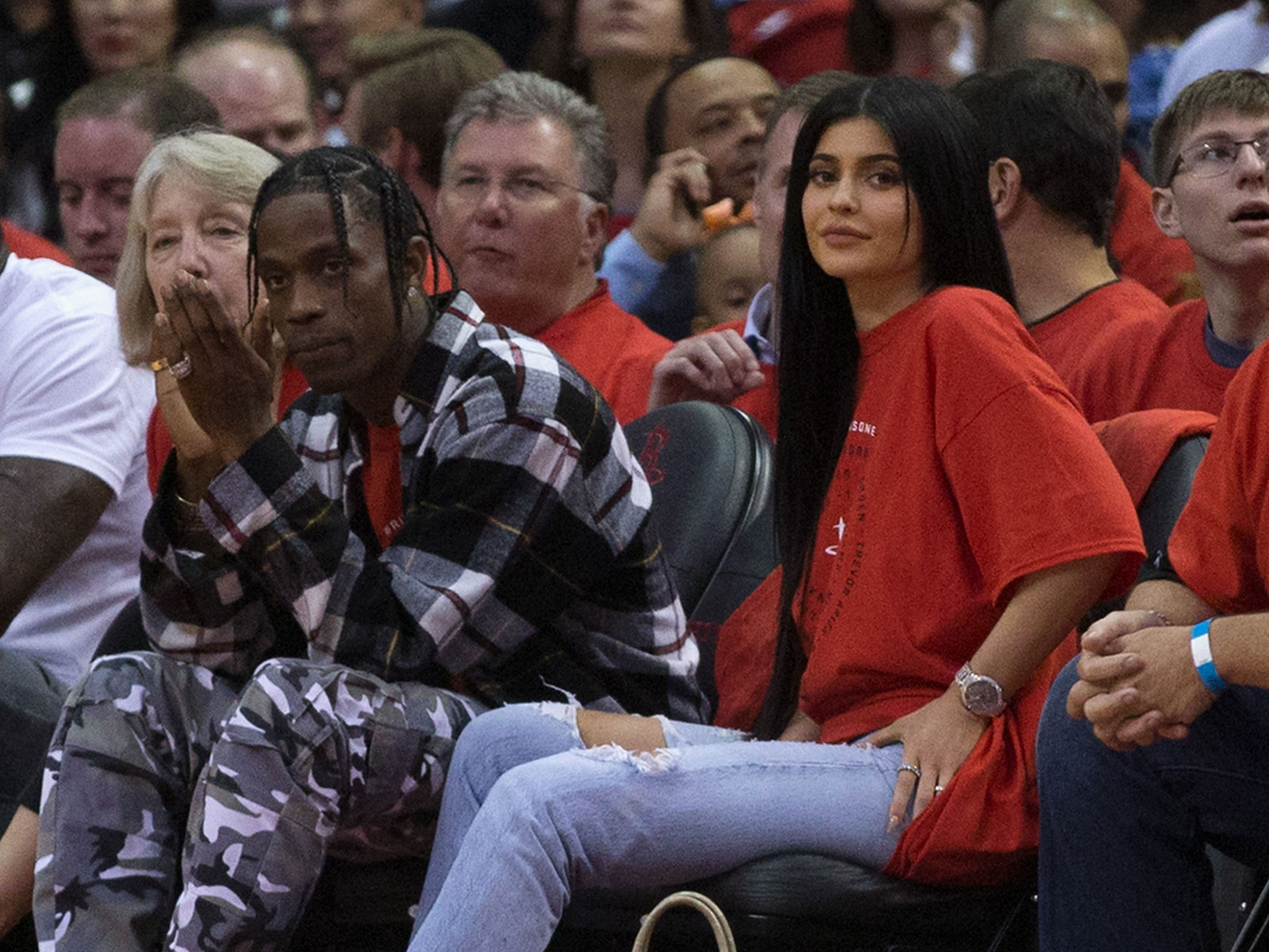 Kylie Jenner and Rihanna's Ex-Boyfriend Travis Scott Get Matching Tattoos!