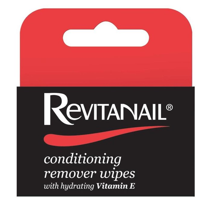 "**Revitanail Conditioning Remover Wipes, $4.99, at [Chemist Warehouse](http://www.chemistwarehouse.com.au/buy/68851/Revitanail-Conditioning-Remover-Wipes-30-Wipes?gclid=CO36gsGk4tMCFZCSvQodocILbg|target=""_blank""