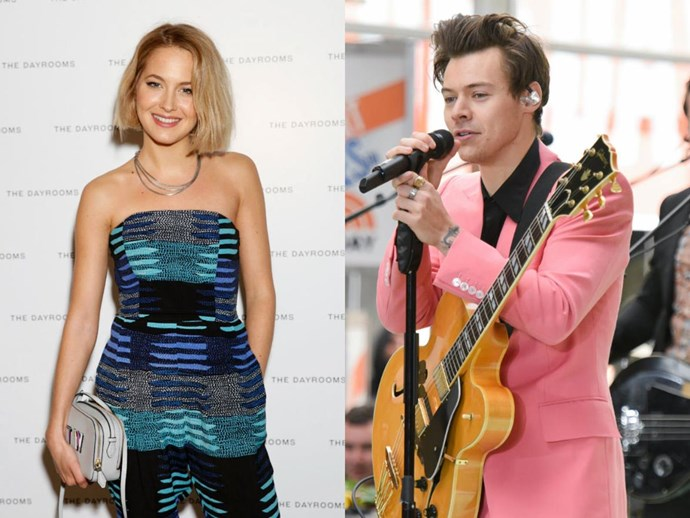 Tess Ward hits up a polo match after dumping Harry Styles
