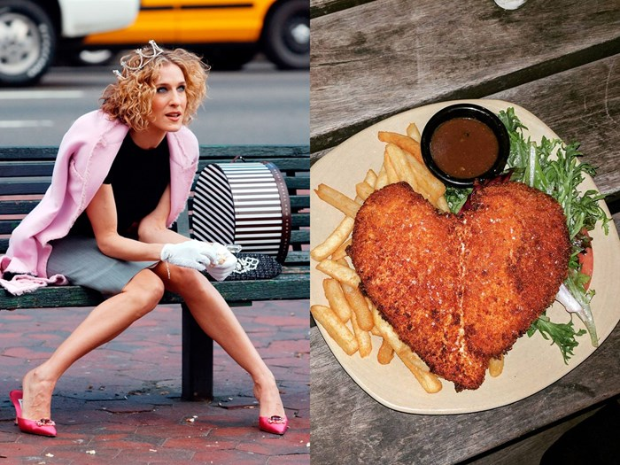 Forget SATC, we're all about 'Sex and the... Schnitty'!