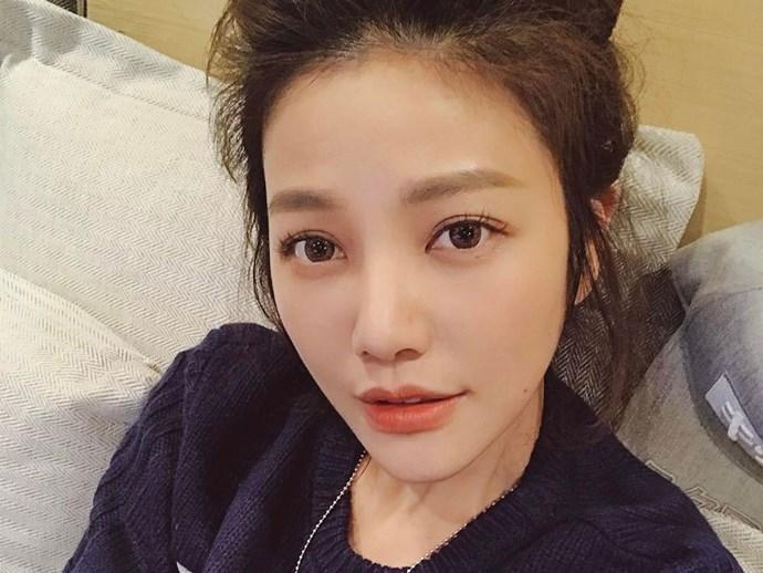 Young looking Taiwanese woman Lure Hsu