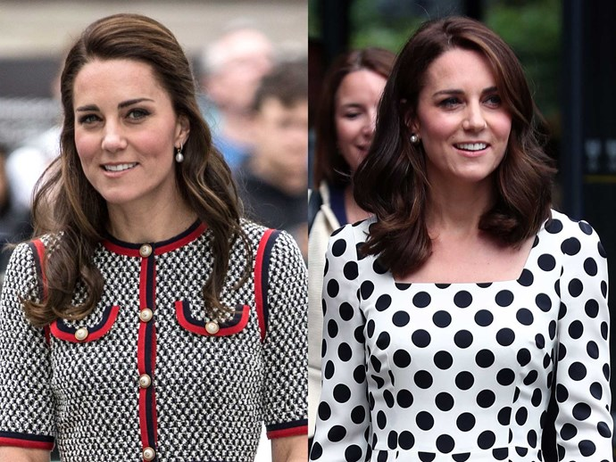 Kate Middleton debuted a fre$h new 'do at Wimbledon overnight and we're already OBSESSED.