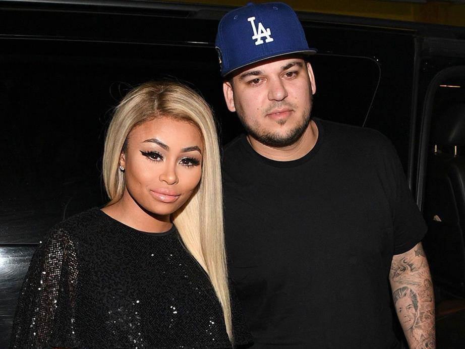 Blac Chyna says Rob Kardashian hit her in April