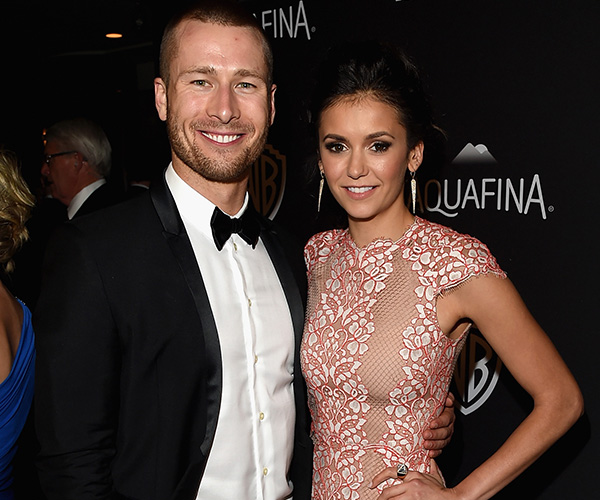 Nina Dobrev dating Scream Queens actor Glen Powell