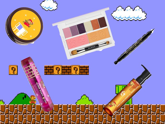 Shu Uemura are dropping a Super Mario-themed makeup range and the nostalgia is real