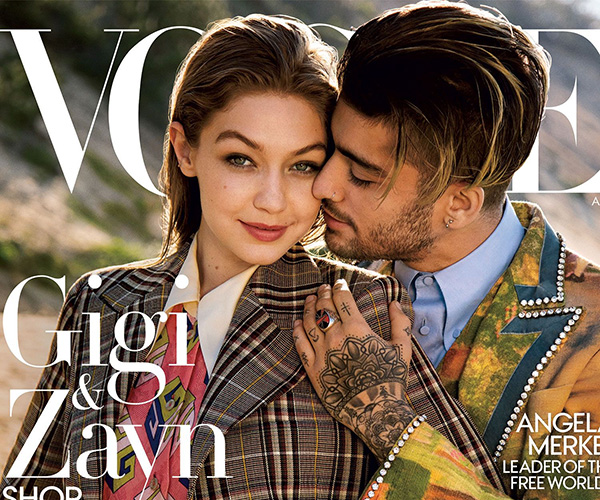 Gigi and Zayn Cover Vogue's August Issue