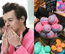 In today's random news: Harry Styles has just been sent 100 bath bombs