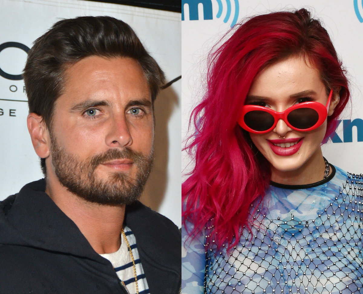 Bella Thorne kept it purely platonic with Scott Disick