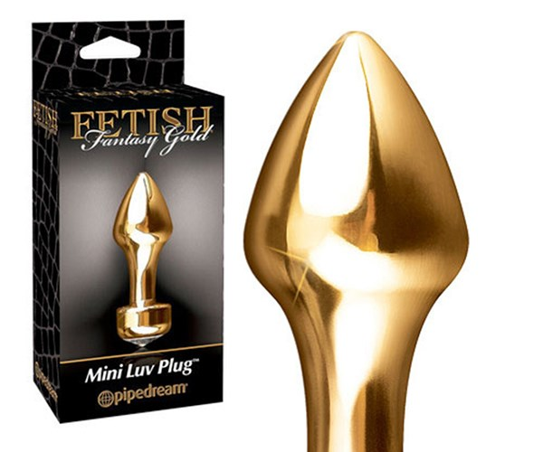 """**Most classy.**  Pipedream Gold Mini Luv Plug, $30.99, [Wild Secrets](https://www.wildsecrets.com.au/p/189344/pipedream-gold-mini-3-25-luv-plug) Tester experience: Intermediate Score: 5/5  I was a little nervous to try this at first, given that it's made from metal and fairly heavy! But it's a perfect butt plug for beginners because it's very small and thin, so it wasn't difficult to insert (with lube, of course!). It was very cold at first, so I had to run it under some warm water. It gave me a feeling of """"fullness"""" and stronger stimulation on all the right spots. The crystal base also adds a nice touch!"""