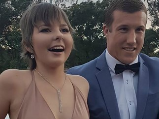 NRL player Trent Hodkinson takes terminally ill girl Hannah to her formal