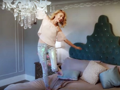 Sarah Hyland releases 'mermaid jeans,' cos why not?