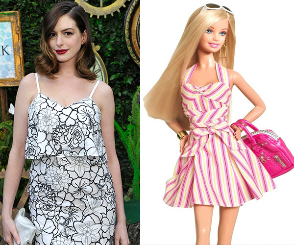 Anne Hathaway in talks to play the lead in Barbie movie