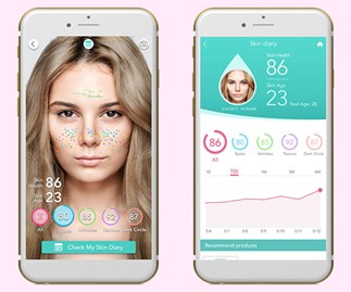 This app tracks how well your skincare products are working