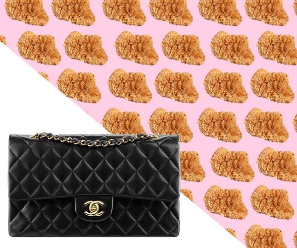 cost of chanel handbag in snacks