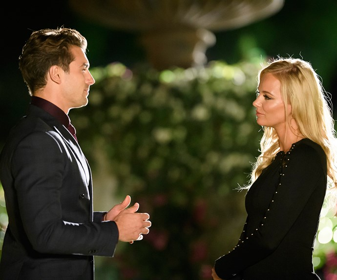 Leah and Matty on The Bachelor Australia 2017