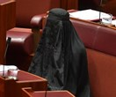 The most savage Twitter reactions to Pauline Hanson wearing a burqa in the senate