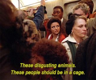 Elaine Seinfeld Subway