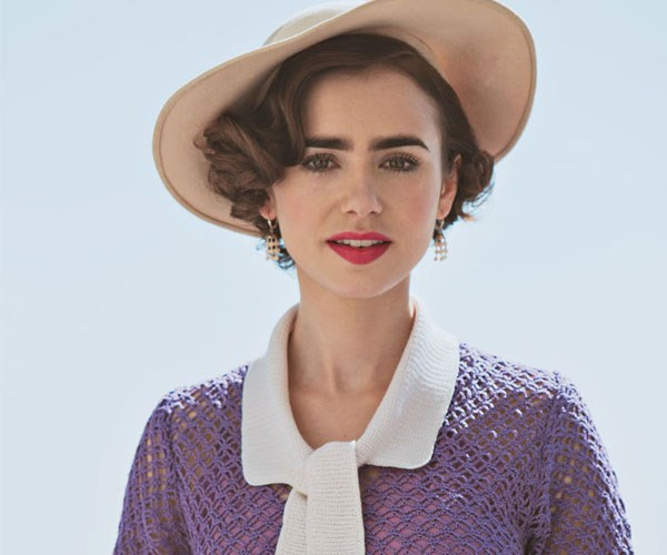 Lily Collins is the epitome of old Hollywood glamour in 'The Last Tycoon'