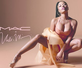 MAC has teamed up with Nicki Minaj for a nude lip collection