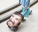 For some scary security: You can now print your face onto your own suitcase