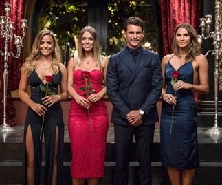 Matty J, Tara, Elise and Laura on The Bachelor Australia 2017
