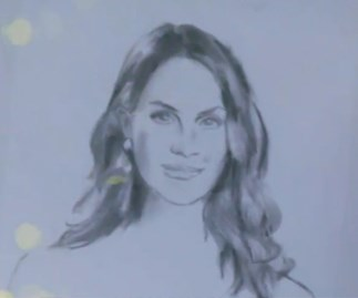 The Bachelor Matty gives Laura a portrait of Georgia Love