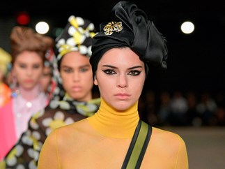 ICYMI: Kendall Jenner and Her Nipples Proudly Marched Down the Runway