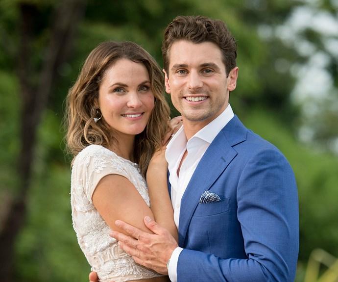 Matty J and Laura Byrne The Bachelor Australia 2017
