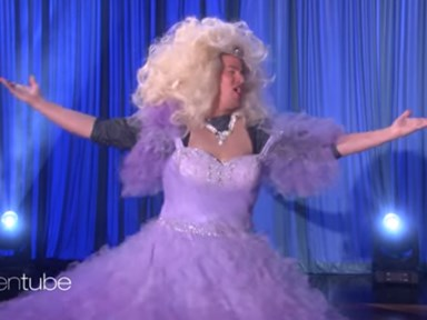 """Get Excited: Channing Tatum Is Singing """"Let It Go"""" in a Princess Costume Again"""
