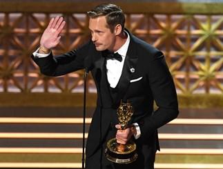 Alexander Skarsgard Nicole Kidman Kissing Emmys
