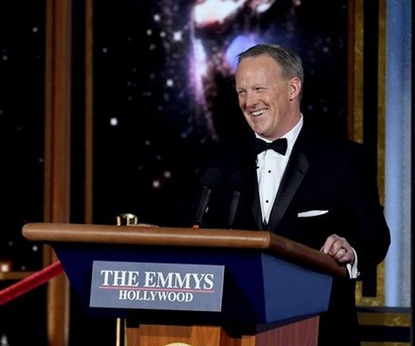 Sean Spicer Emmys 2017 Appearance