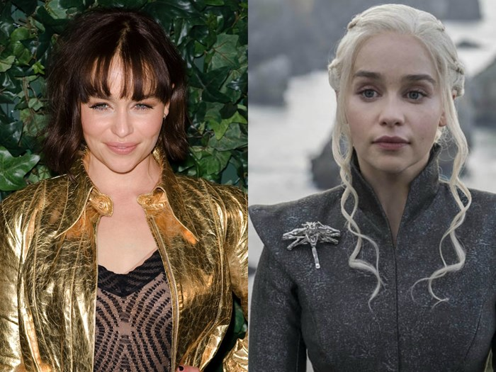 Emilia Clarke Just Dyed Her Hair Khaleesi Blonde in Real Life