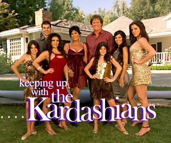 Kardashians recreate the KUWTK opening credits