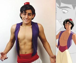 Instagram @strykerkun Disney cosplay princes