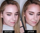 Here's what 9 of the best contour kits look like on half a face